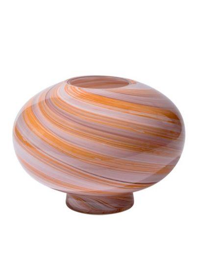 Twirl Vase, Large - Pink - Eden outcast