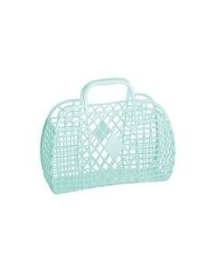 Retro Basket, Large - Mint - Sun Jellies