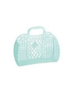 Retro Basket, Small - Mint - Sun Jellies