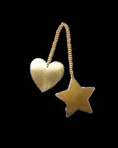 Juleornament - Guld - Lover - Au Maison