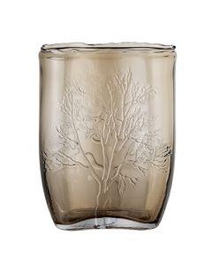 Vase, brun glas - Bloomingville