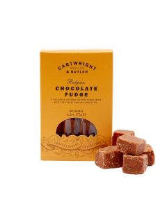 Belgian Chocolate Fudge - Cartwright & butler - 175 gr.