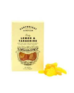 Lemon and Tangerine Sweets- Cartwright and butler - 190g.