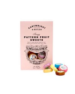 Pattern Fruit Candies - Cartwright & Butler - 180g.