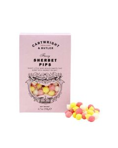 Sherbet Pips Sweets - Cartwright and Butler - 190g.