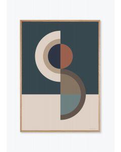 Figure shape No 10 Blue