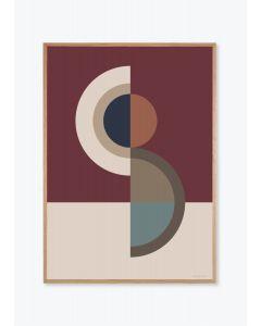 Figure shape No 10 Bordeaux