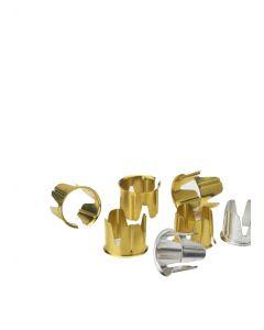 Mother´s  little helper - Messing - Universal lys holder - Kunstindustrien