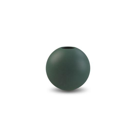 Ball Vase, 8 cm. - Dark Green - Cooee Design