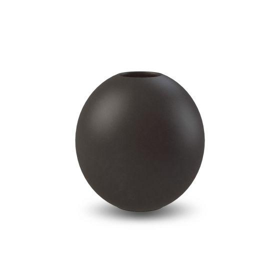 Ball vase - 10 cm. - Black - Cooee Design