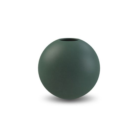 Ball vase - 10 cm. - Dark Green - Cooee Design