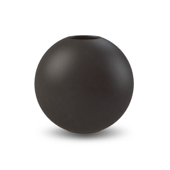 Ball vase - 20 cm. - Black - Cooee Design