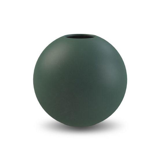 Ball vase - 20 cm. - Dark Green - Cooee Design