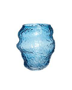 Vase - Blå - Hübsch