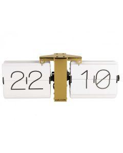Flip clock, No case - Messing - Karlsson