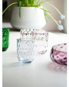 Glas, Tumbler - Small drops - Blue smoke - Kodanska