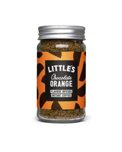 Little´s chocolate orange instant coffee.