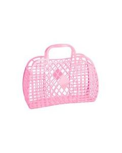 Retro Basket, Small - Rosa - Sun Jellies