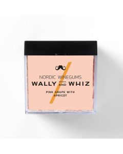 Vingummi - Pink Grape med Abrikos - Wally and Whiz