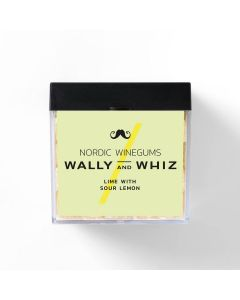 Vingummi - Lime med sur citron - Wally and Whiz