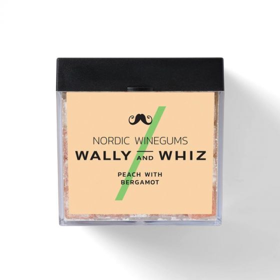 Vingummi - Fersken med Bergamotte - Wally and Whiz